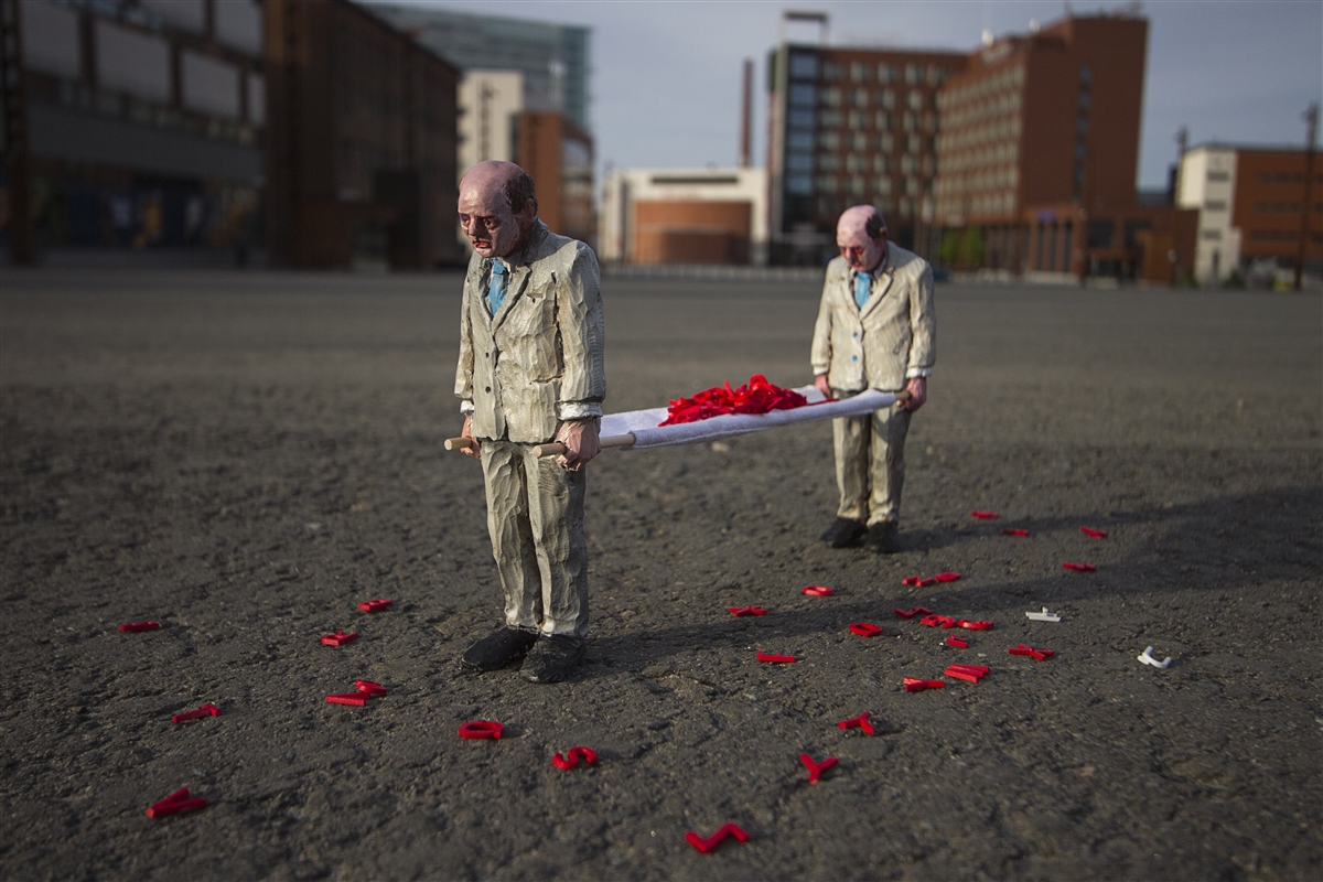 Image result for isaac cordal