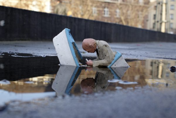 Slowly sinking, Brussels, Belgium